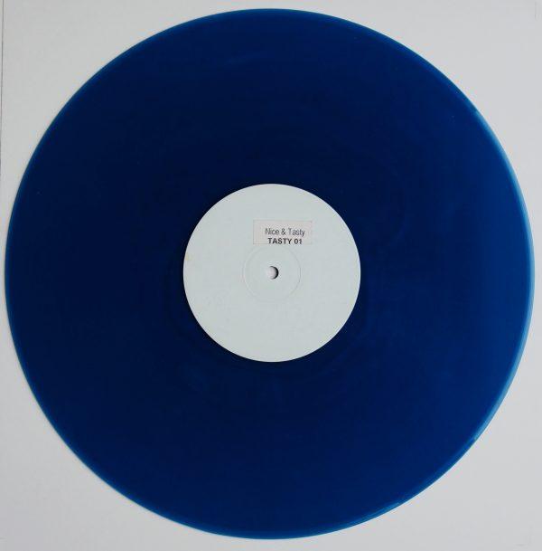 BLUE VINYL - Nice & Tasty - Tasty 01
