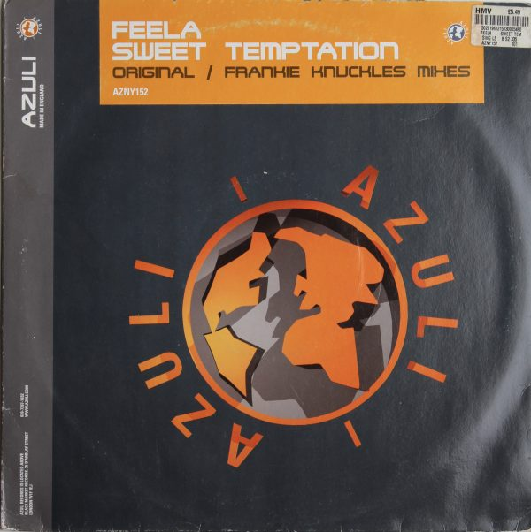 Feela - Sweet Temptation - Original Frankie Knuckles Mixes